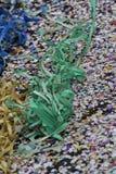 Confetti i streamers Zdjęcie Royalty Free