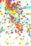 Confetti isolated on white Stock Photo