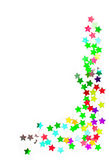 Confetti kolorowa rama Obraz Stock