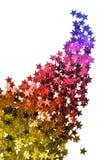 confetti kształtująca gwiazda zdjęcie stock
