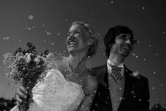 Confetti-Liebe stockfoto