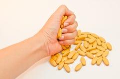 Confetti medici delle capsule delle compresse delle pillole Immagini Stock
