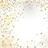 Confetti, neue Jahre Feier - Hintergrund Lizenzfreie Stockfotografie
