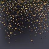 Confetti, New Year's celebration - vector background stock illustration