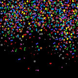 Confetti, New Years celebration - background Royalty Free Stock Images
