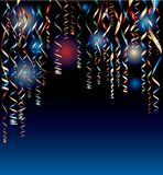 Confetti night Stock Photography