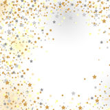 Confetti, nowy rok świętowanie - tło Fotografia Royalty Free