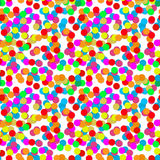 Confetti party design seamless pattern Stock Photos