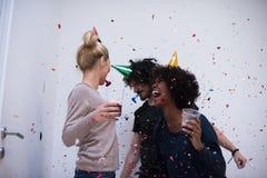 Confetti party Stock Image