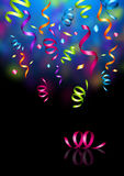confetti przyjęcie royalty ilustracja