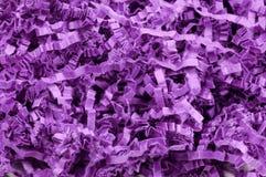 Confetti roxo fotografia de stock royalty free