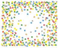 Confetti stars Stock Image