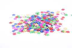 Confetti stars Royalty Free Stock Photos