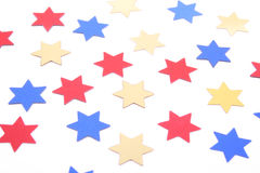 Confetti stars Stock Photos