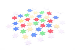 Confetti stars Royalty Free Stock Images