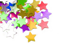 Confetti stars Royalty Free Stock Photo