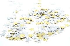 Confetti-Sterne Stockfoto