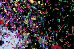 Confetti & Streamers Royalty Free Stock Images