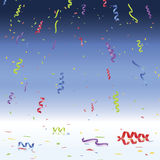 Confetti and Streamers Celebration Royalty Free Stock Photography