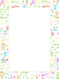 Confetti strona Zdjęcie Royalty Free