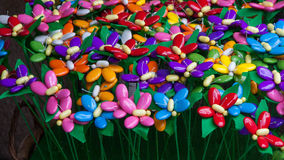 Confetti in Sulmona Old town in Abruzzo mountains region Royalty Free Stock Photos