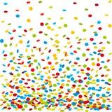 Confetti tło Obraz Royalty Free