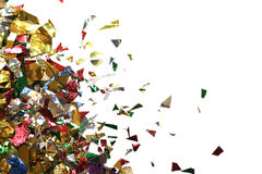 Confetti triangle Stock Photo