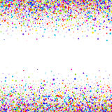 Confetti  vector background Royalty Free Stock Photos