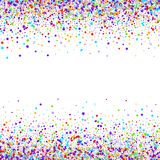 Confetti  vector background Royalty Free Stock Image