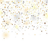 Confetti, vector illustration Royalty Free Stock Images