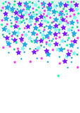 Confetti, vector illustration Royalty Free Stock Photos