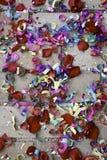 Confetti Wedding soil Stock Photo