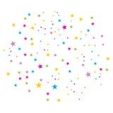 confetti wektor Zdjęcie Stock