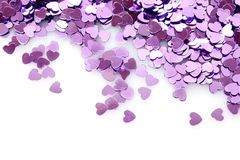 confetti on white Stock Photography