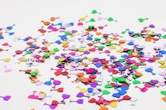 Confettien Royalty-vrije Stock Afbeeldingen