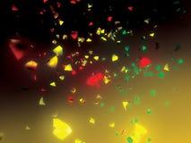 Confettien Royalty-vrije Stock Afbeelding