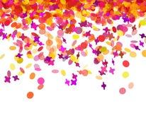 Confettien Carnaval Royalty-vrije Stock Afbeelding