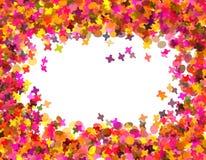 Confettien Carnaval Royalty-vrije Stock Afbeeldingen