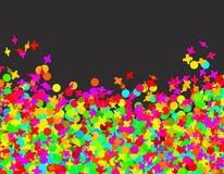 Confettien Carnaval Stock Afbeelding