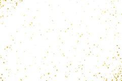 Confettien op witte achtergrond worden geïsoleerd die Vector abstracte kleurrijke achtergrond Stock Fotografie