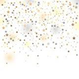 Confettien, vectorillustratie Royalty-vrije Stock Afbeeldingen
