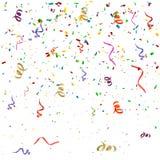 Confettienachtergrond Stock Foto