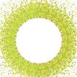 Confettiencirkel royalty-vrije illustratie