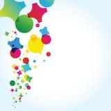 Confettis illustration de vecteur