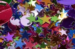 Confettis images stock