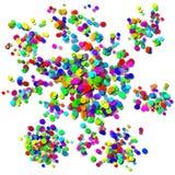 Confettis Photo stock