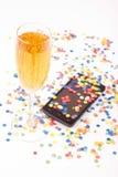 Confettis Photographie stock libre de droits
