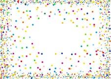 Confettis Photographie stock