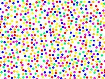 Confettis colorés Image libre de droits