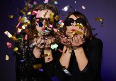 Confettis, confettis partout ! Photographie stock